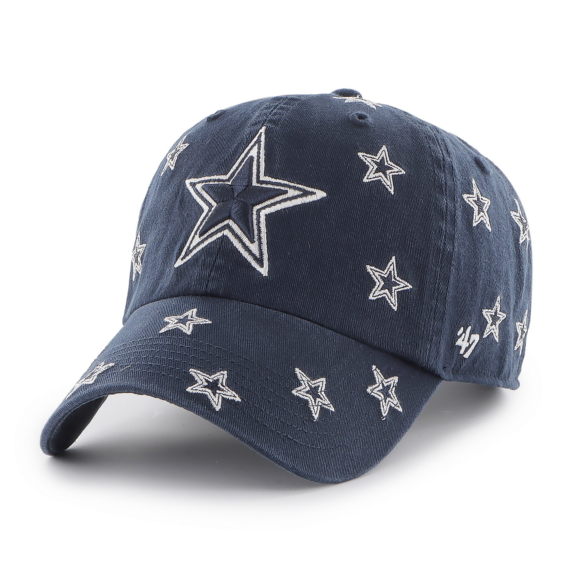Dallas Cowboys '47 Brand Womens Confetti Clean Up Adjustable Hat