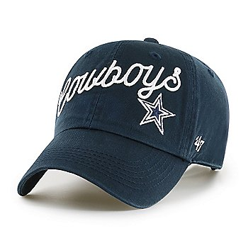 Dallas Cowboys '47 Brand Womens Millie Clean Up Adjustable Hat