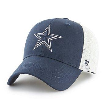Dallas Cowboys '47 Brand Womens MVP Lace Mesh Strap Adjustable Hat