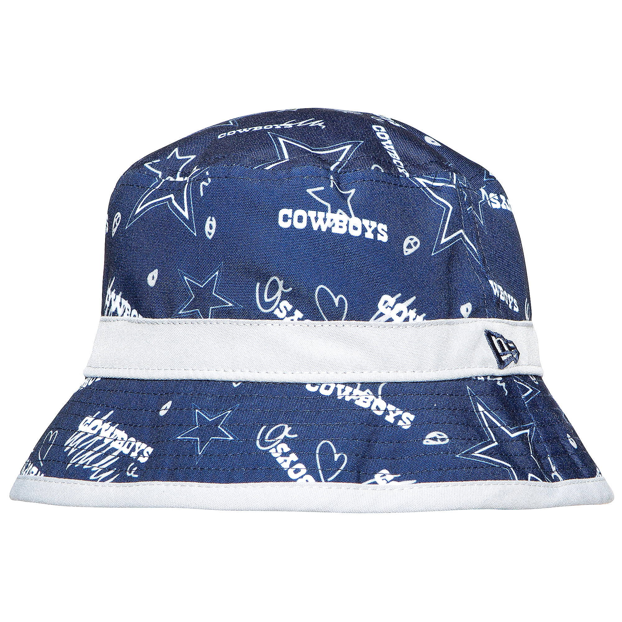 Dallas Cowboys New Era Jr Kids Craze Bucket Hat