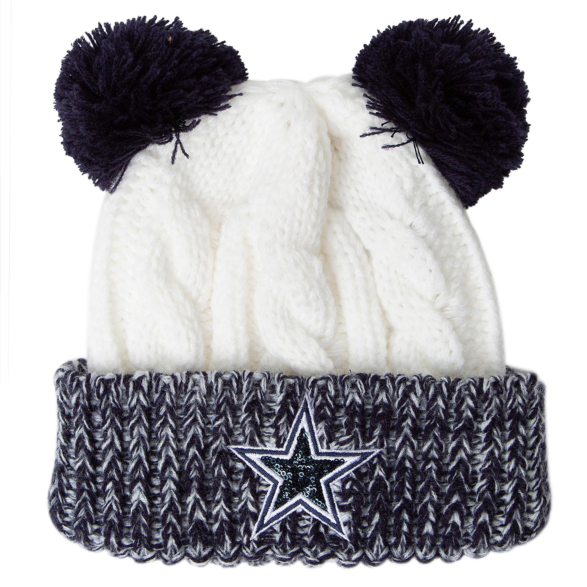 Dallas Cowboys Youth Beartail Knit Hat