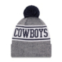 Dallas Cowboys New Era Youth Banner Knit Hat