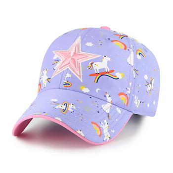 Dallas Cowboys '47 Brand Kids Unicorn Clean Up Adjustable Hat