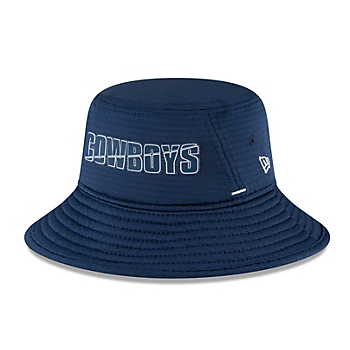 Dallas Cowboys New Era Summer Sideline Youth Stretch Bucket Hat