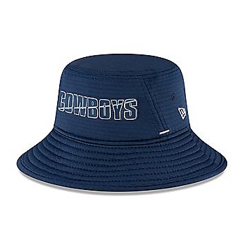 Dallas Cowboys New Era Summer Sideline Youth Stretch Bucket Hat