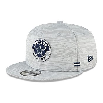 Dallas Cowboys New Era Youth Sideline Dolphin Grey 9Fifty Hat