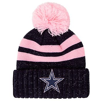 Dallas Cowboys Girls Sicily Knit Hat