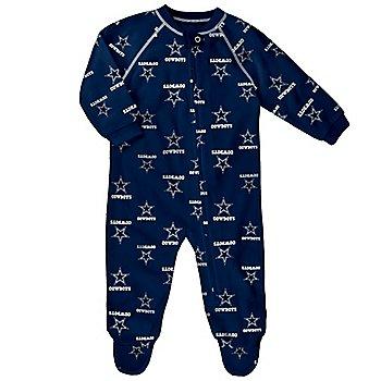 Dallas Cowboys Toddler Raglan Zip Up Coverall