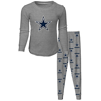 Dallas Cowboys Toddler Long Sleeve T-Shirt and Pant Sleep Pajama Set