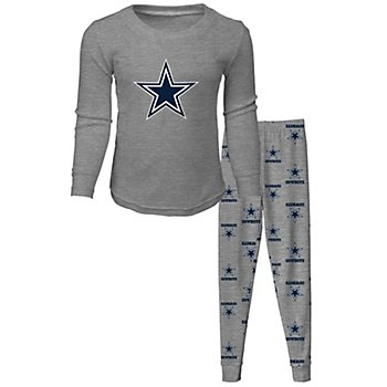 Dallas Cowboys Toddler Long Sleeve T-Shirt and Pant Sleep Pajama Set