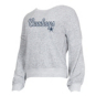 Dallas Cowboys Womens Venture Long Sleeve Knit Crew Sweater
