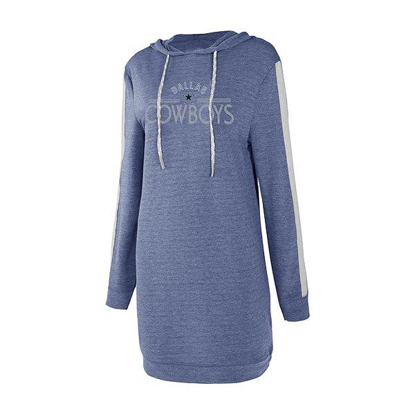 Dallas Cowboys Womens Prodigy Hooded Nightshirt