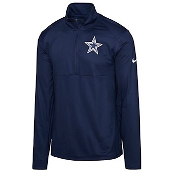 Dallas Cowboys Nike Mens Logo Element Half-Zip Pullover