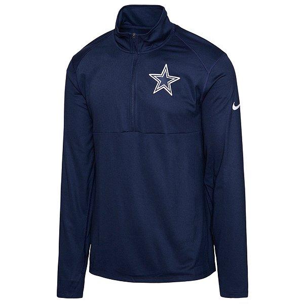 Dallas Cowboys Nike Mens Logo Element Half-Zip Pullover