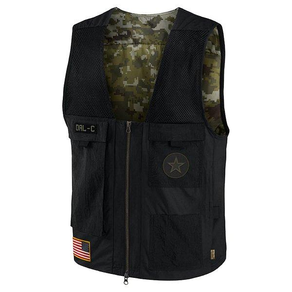 Dallas Cowboys Nike Salute to Service Mens Utility Vest