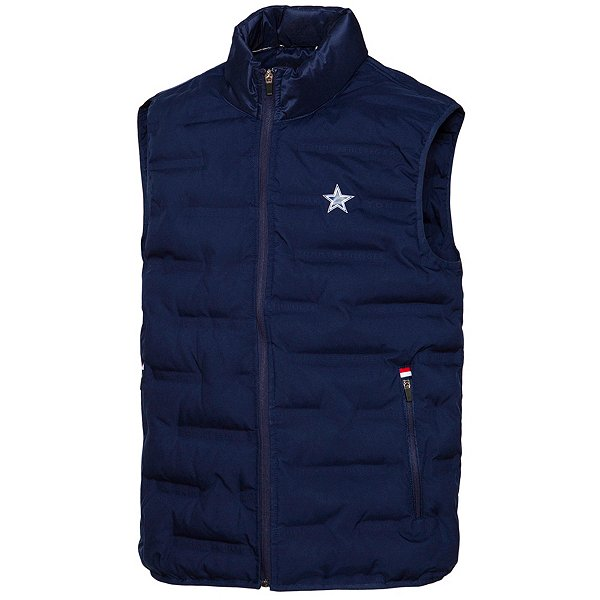 Dallas Cowboys Tommy Hilfiger Mens Heat Sealed Down Touch Polyfill Vest