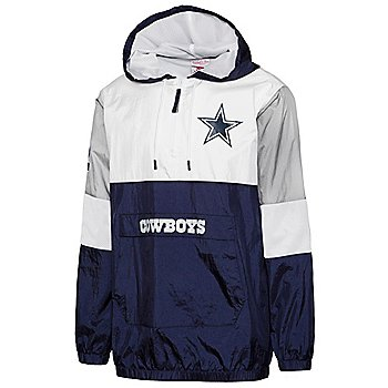 Dallas Cowboys Mitchell & Ness Mens Surprise Win Windbreaker Jacket