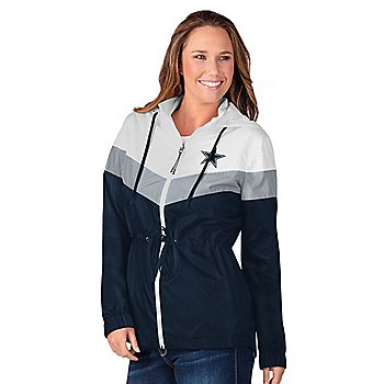 Dallas Cowboys Womens Stadium Lightweight Jacket