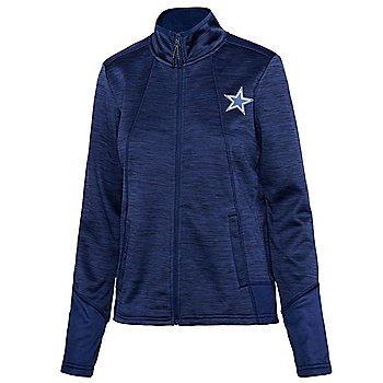 Dallas Cowboys Womens Opening Day Space Dye Fleece Zip Up Jacket