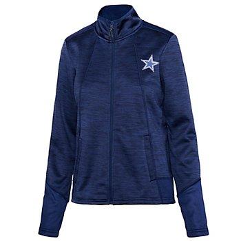 Dallas Cowboys Womens Opening Day Space Dye Fleece Zip Up Jacket