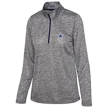 Dallas Cowboys Womens Chancellor Quarter-Zip Pullover