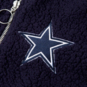 Dallas Cowboys Womens Sonja Sherpa Bomber Jacket