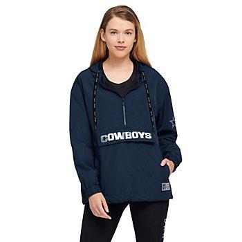 Dallas Cowboys DKNY Sport Womens Stella Hooded Anorak Jacket