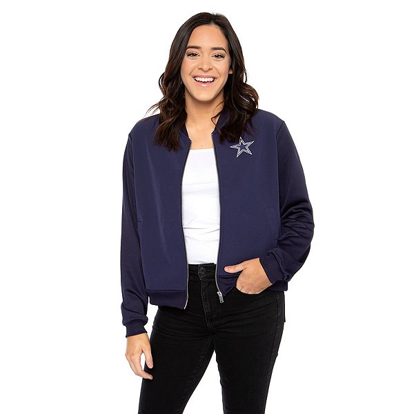 Dallas Cowboys Womens Rachel Full-Zip Fleece Pullover