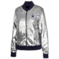 Dallas Cowboys Womens Sequin Bomber Jacket