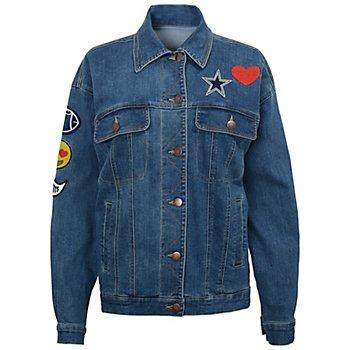 Dallas Cowboys Juniors Ballistic Denim Jacket