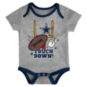 Dallas Cowboys Infant Champ 3-Pack Creeper Set