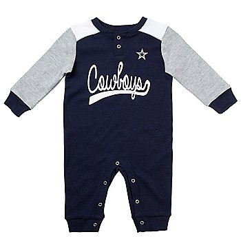 Dallas Cowboys Infant Scrimmage Long Sleeve Coverall