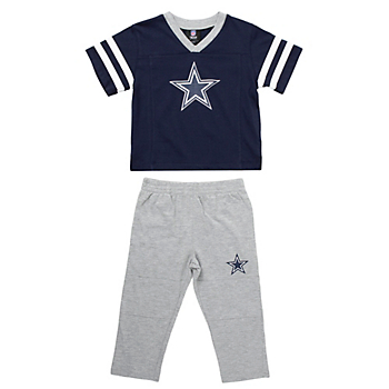 Dallas Cowboys Toddler Training Camp T-Shirt & Pant Set