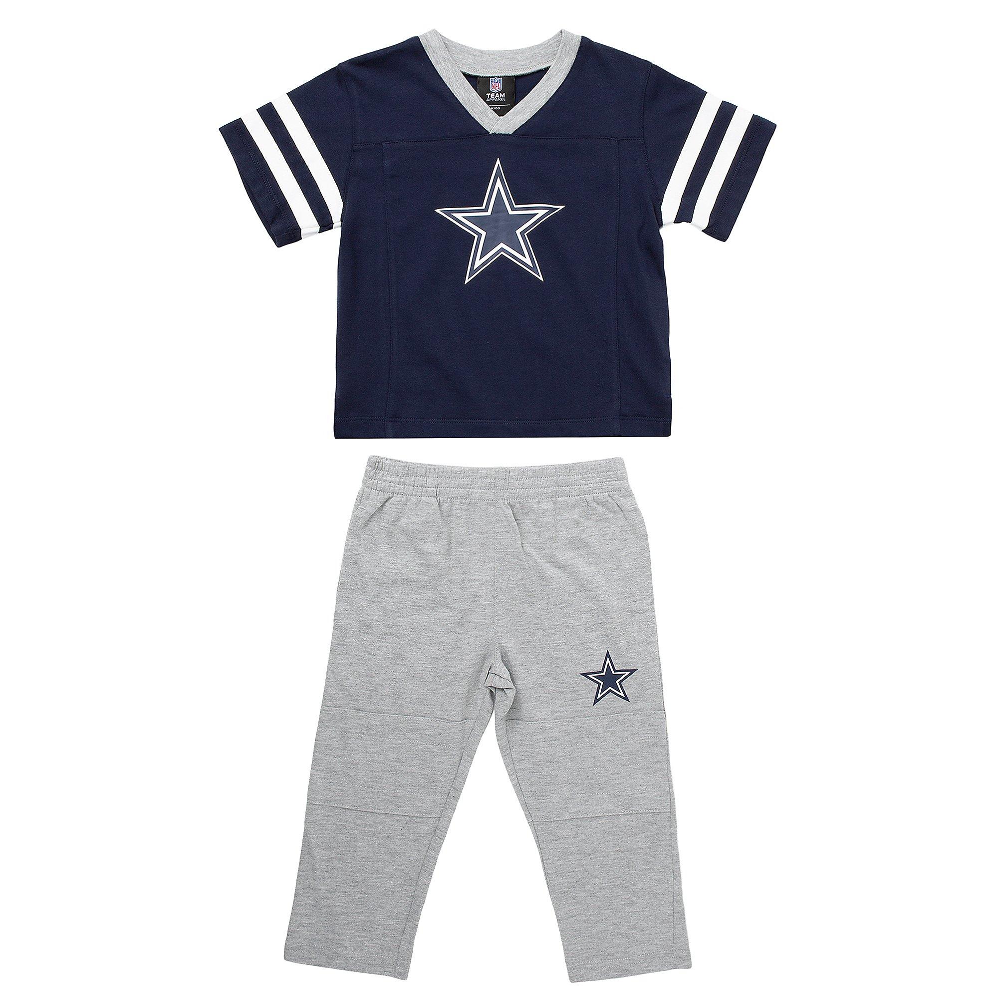 Dallas Cowboys Toddler Training Camp T-Shirt & Pant Set