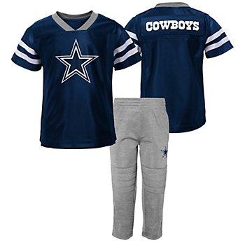 Dallas Cowboys Kids Training Camp T-Shirt & Pant Set