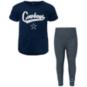 Dallas Cowboys Infant Diamond T-Shirt & Legging Set