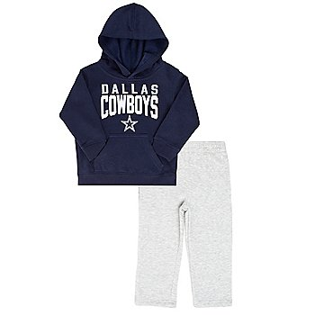 Dallas Cowboys Infant Fan Flare Hoodie and Pant Set