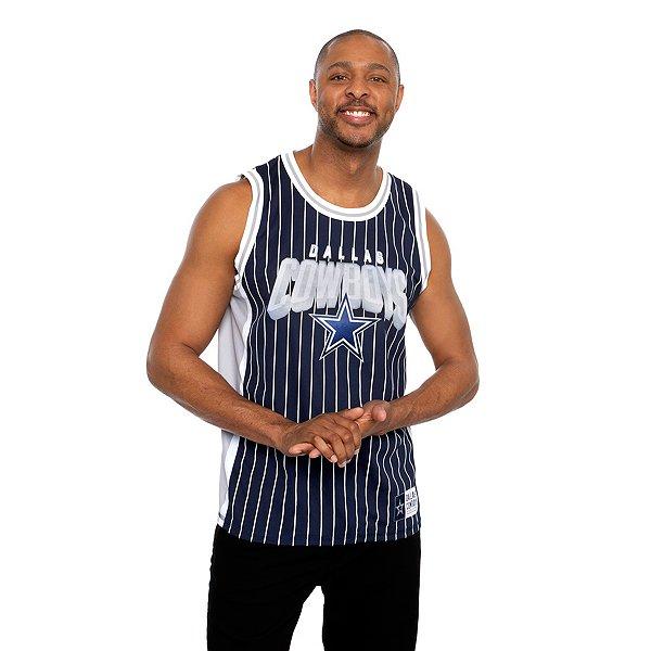 Dallas Cowboys Mens Jumpshot Basketball Jersey