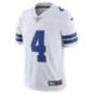 Dallas Cowboys Dak Prescott #4 Nike Vapor Untouchable White Limited Jersey