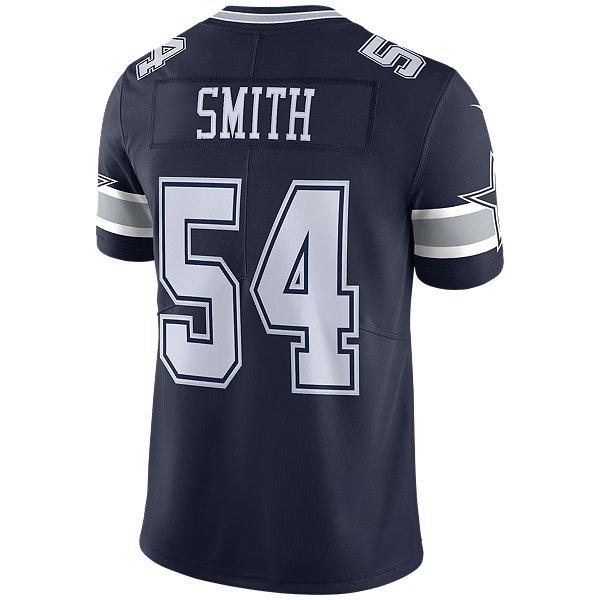 Dallas Cowboys Jaylon Smith #54 Nike Navy Vapor Limited Jersey