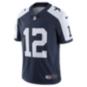 Dallas Cowboys Roger Staubach #12 Nike Vapor Throwback Limited Jersey