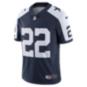 Dallas Cowboys Emmitt Smith #22 Nike Vapor Throwback Limited Jersey