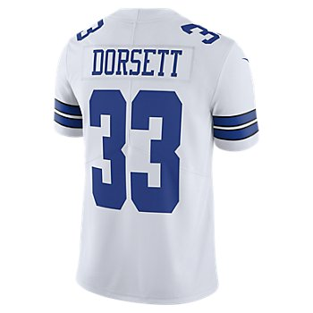 Dallas Cowboys Tony Dorsett #33 Nike White Vapor Limited Jersey