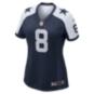 Dallas Cowboys Womens Legend Troy Aikman #8 Nike Game Replica Throwback Jersey
