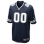 Dallas Cowboys Custom Nike Navy Game Replica Jersey