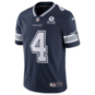 Dallas Cowboys Dak Prescott #4 Nike 1960 Navy Vapor Limited Jersey