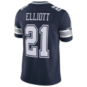 Dallas Cowboys Ezekiel Elliott #21 Nike 1960 Navy Vapor Limited Jersey