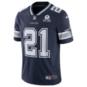Dallas Cowboys Ezekiel Elliott #21 Nike 1960 Navy Vapor Limited Jersey