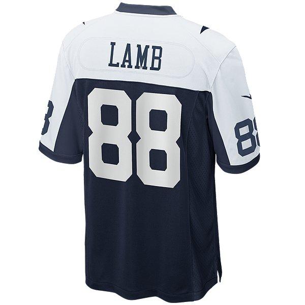 Dallas Cowboys CeeDee Lamb #88 Nike Game Replica Throwback Jersey