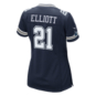 Dallas Cowboys Womens Ezekiel Elliott #21 Nike Navy Game Replica Jersey